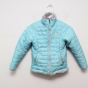 The North Face Mossbud Swirl Reversible Coat Small